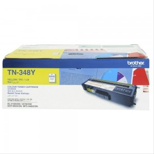 TN-348Y - Yellow Toner Cartridge, Yield 6000 pages
