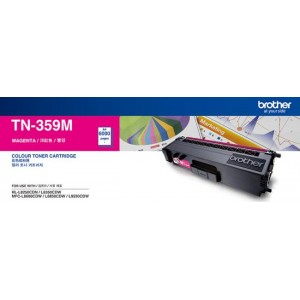 TN-359M - Magenta Toner Cartridge, Yield 6000 pages