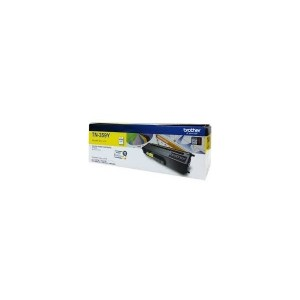 TN-359Y - Yellow Toner Cartridge, Yield 6000 pages