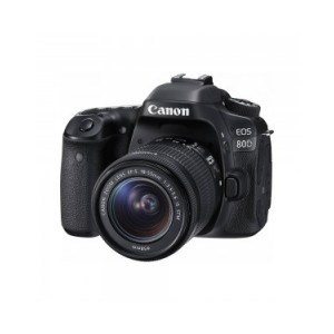 Digital Camera EOS 80D with lens EF-S18-200 IS WiFi [EOS80DL200]