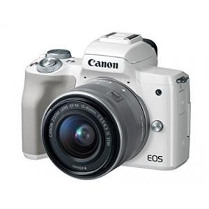 EOS M50 EF-M15-45mm White