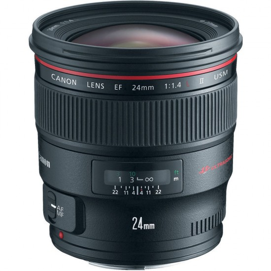 Lens EF24mm F1.4LII USM