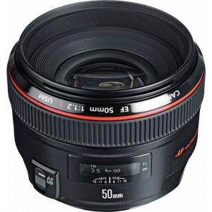 Lens EF50f1.2 LU