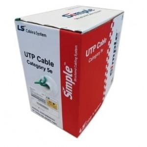 CABLE Cat 5E UTP